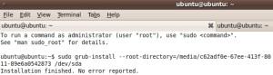 Install Kembali Grub yang Hilang Akibat Install Ulang Windows