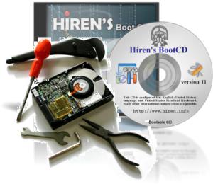Tutorial Mengakali Hardisk yang Bad Sector tanpa repair dengan Hiren's BootCD