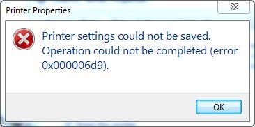 Pesan Error 0x000006d9